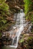Kaiserin-Wasserfall - blaue Berge, Australien lizenzfreies stockbild