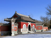 Kaiserintempel Beiding Taishan Stockbilder