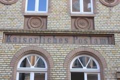 Kaiserliches Postamt (Alemanha) imagens de stock