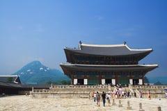 Kaiserpalast in Seoul Stockbild