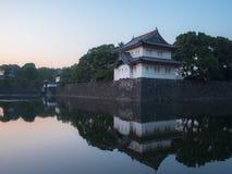 Kaiserpalast von Japan Stockfotos