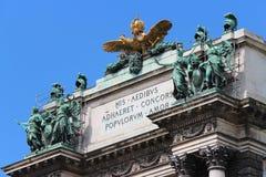 Kaiserpalast - Wien - Österreich Stockbilder