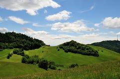 Kaiserstuhllandschap in Duitsland Europa Royalty-vrije Stock Foto's