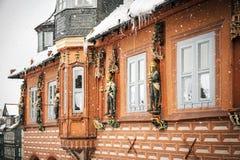 Kaiswerworth in Goslar, Germania Immagini Stock