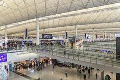 Kaitak Hong lotniskowy kong Obrazy Royalty Free