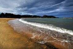 Kaiteriteri. Nelson NZ Royalty Free Stock Images