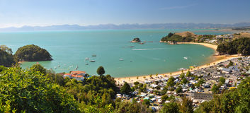 Kaiteriteri Panorama 2, New Zealand Stock Image
