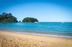 Kaiterteri Beach Tasman New Zealand stock photography
