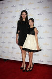 Kaitlin Riley, Baillee Madison arrives at  the Hallmark Channel TCA Party Winter 2012 Stock Image