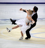 Kaitlyn Weaver & Andrew Poje (CAN) Royalty Free Stock Photos