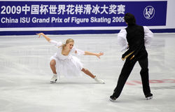 Kaitlyn Weaver and Andrew Poje (CAN) Royalty Free Stock Photo