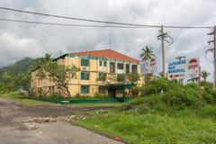 Kaivuna度假旅馆,腊包尔,新几内亚 免版税库存图片