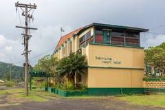 Kaivuna度假旅馆,腊包尔,新几内亚 免版税库存照片