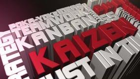 Kaizen et concepts de qualité illustration libre de droits