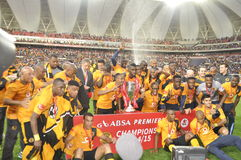 Kaizer chiefs -2015 league champions Stock Image