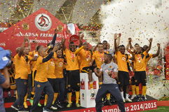Kaizer chiefs -2015 league champions Royalty Free Stock Photos