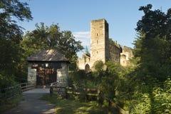 Kaja, ruínas do castelo, Áustria Imagem de Stock