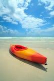 kajaków plażowi południe obrazy royalty free