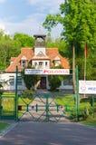 Kajak club building Royalty Free Stock Photo