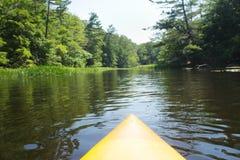 Kajak del río Foto de archivo libre de regalías