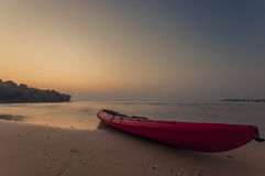 kajak in isola Koh Kood, Tailandia Fotografia Stock