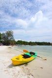 Kajak Wong Duen am Strand, Samed Insel, Thailand Stockbilder