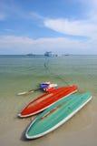 Kajak Wong Duen am Strand, Samed Insel, Thailand Stockbild