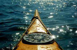 kajaka morze Fotografia Stock