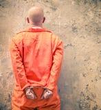 Kajdanowi więźniowie czeka karę śmierci Zdjęcie Stock