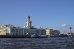 Kajer av St Petersburg Arkivbilder