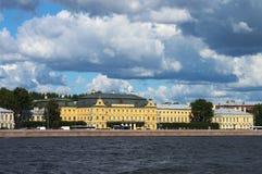 Kajer av St Petersburg Fotografering för Bildbyråer