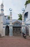 Kajimar清真寺的入口在马杜赖 库存图片