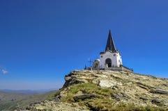 Kajmakcalan kapell, Makedonien - första världskrigminnesmärke Fotografering för Bildbyråer