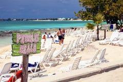 Kajman wyspy Zdjęcia Royalty Free