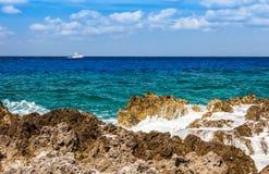 Kajman wyspy Obraz Royalty Free