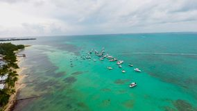 Kajman wyspy Rumowy punkt Obraz Stock