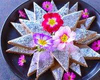 Kajukatli - Indische snoepjes voor huwelijken royalty-vrije stock afbeeldingen