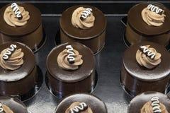 Kaka för chokladmousse Royaltyfria Bilder