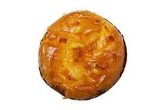 Kaka med aprikons Royaltyfri Bild