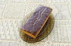 Kaka med kanderad frukt Fotografering för Bildbyråer