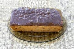 Kaka med kanderad frukt Royaltyfria Foton