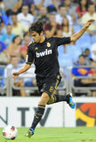 Kaka shooting. Kaka playing with the Real Madrid Stock Photo