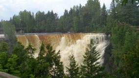 Kakabeka cai Thunder Bay Ontário Imagem de Stock Royalty Free