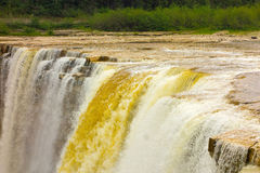 The kakabeka waterfall in ontario, canada Stock Photo