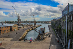 Kakadu-Insel-Docks, Sydney Australia Stockfoto