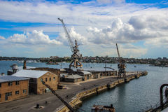 Kakadu-Insel-Docks, Sydney Australia Stockfotos