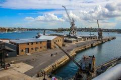 Kakadu-Insel-Docks, Sydney Australia Stockfotografie
