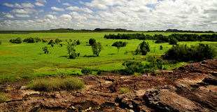 Kakadu national park. 2010 Billabong Royalty Free Stock Image