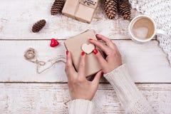 Kakao, kawa z marshmallows Zdjęcie Stock