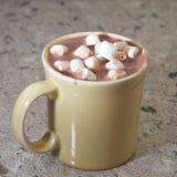 Kakao mit Eibischen Stockbild
